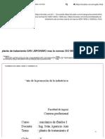 Planta de Tratamiento-SAN JERONIMO Mas La Normas ISO 9000-14000 y 18000.Docx - DOCSLIDE.com