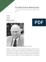 Sobre El Concepto de Democracia en El Fin de Siglo