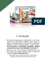 Aula 3 e 4 - Economia Da Informação - Intro_Modelo Base