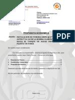 Presupuesto de Instalacion de Tuberia Hdpe.ll