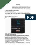 resistencias circuitos integrados
