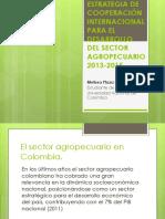 Estrategia de Cooperación Internacional Para El Desarrollo Del Sector Agropeecuario