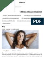 Dormir Con El Aire Acondicionado _ Climayoreo