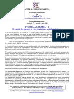 Appel CerLiCO 2012