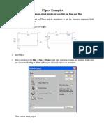 Filter PSpice Tutorial