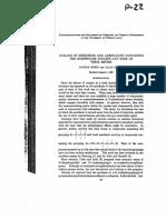 Analogs of Ephedrine - Rubin & Day 1939