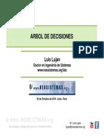 Arbol de decisiones Luis Alberto Lujan Campos