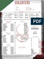 Family - Angustri Sheet