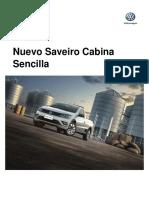 Ficha Tecnica Nuevo Saveiro MY2018