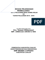 RPP Bahasa Sunda Kelas 7