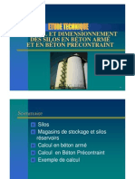 Calcul Et Dim Des Silos en BA Et BP, IsBA_TP