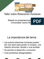 Taller Sobre Relaciones Humanas