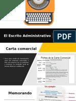 El Escrito Administrativo
