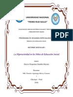 Informe Modular Educacional Inicial