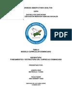 Fundamento y Estructura Del Curriculo Dominicano Actividad II