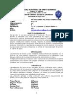 POL-133 Instituciones Politicas Dominicanas