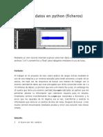 Análisis de Datos en Python