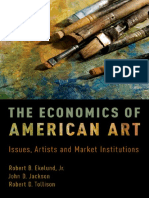 The Economics of American Art Issues Artists and Market Institutions
