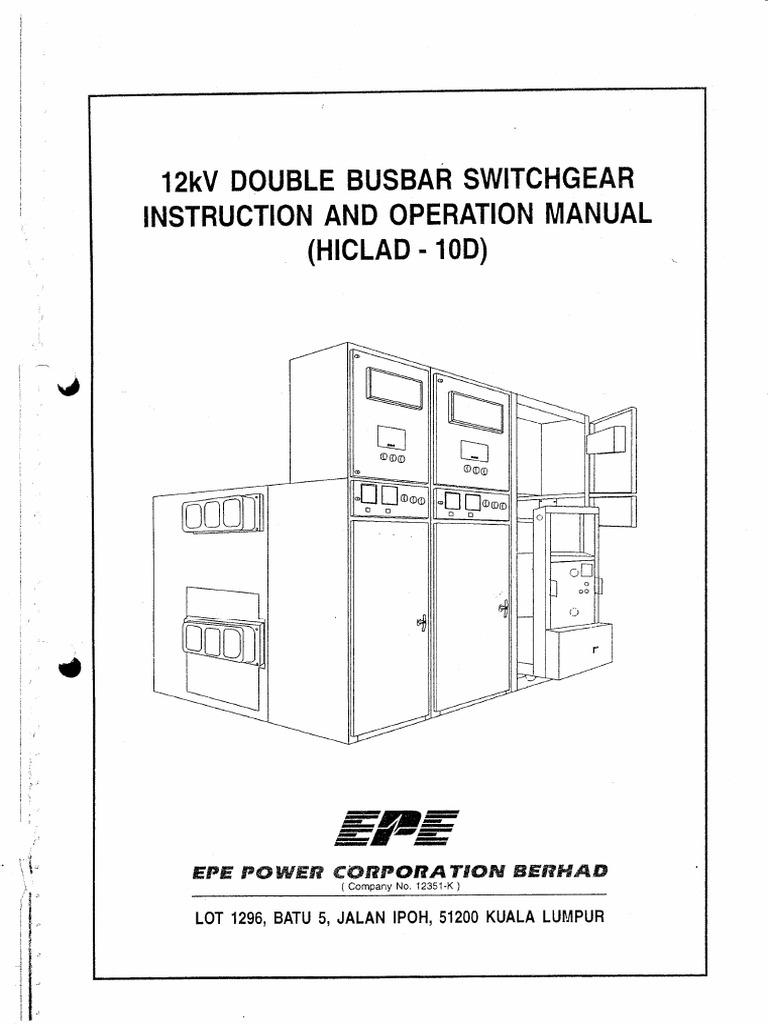 EPE 12kV Switchgear | Ac Power Plugs And Sockets | Electrical Connector