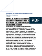 Apostolado de Desagravio y Reparación a Los Sagrados CorazonesDISCIPULO