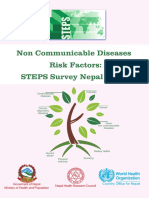 Noncommunicable Disease Report 2012 2013 Nepal
