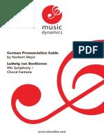 Beethoven Pron Guidebook
