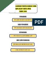 Carta Organisasi Panitia 2018