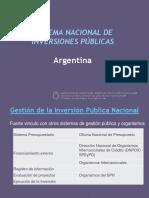 ARGENTINA_Sistema Nacional de Inversiones