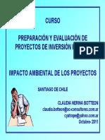 CHILE Impacto_ambiental de Los Proyectos de Inversion Publica