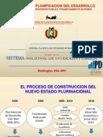 Bolivia- Presentacion del  Nuevo bsnip 302 VIPFE2