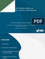 BID_eficiencia Del Gasto de Inversion Publica