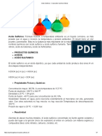 Acido Sulfurico - Corporativo Quimico Global