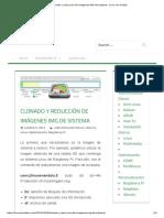 Clonado y Reducción de Imágenes IMG de Sistema – Linux en Andalú