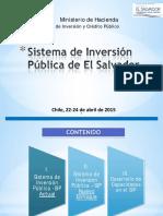 El Salvador - Sistema de Inversion Publica
