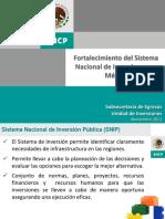 Fortalecimiento Sistema Nacional de Inversion Mexico
