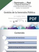 HONDURAS_gestion de La Inversion Publica