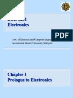 Electronics Chapter 1