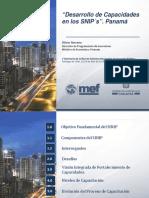 Panama- Desarrollo de Capacidades de Los SNIPs