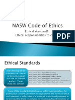 Ethical Standard 1(1)(1)