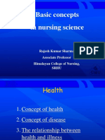 Basic Concept of Nursing