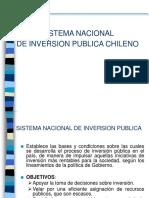 CHILE Sistema Nacional de Inversion Publica-contraloria