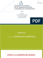 Dinamica de Sistemas Etapa Calibracion