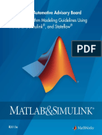 MAAB Control Algorithm Modeling Guidelines Using MATLAB Simulink and Stateflow