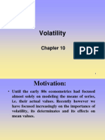 Lecture on Volatility.ppt