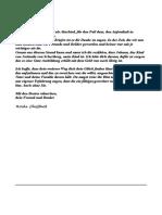 Briefe an Arno