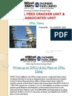 Duel Feed Cracker Unit Associated Unit