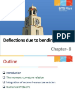 Chapter-8 Displacement Due to Bending