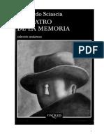 El Teatro de La Memoria, Sciascia Leonardo