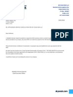 Lease Agreement Cancellation