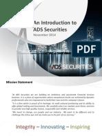 English ADSS Corporate Presentation (1)